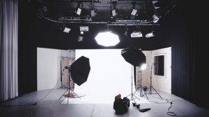 Fire Retardant Fabrics used in Photo studio