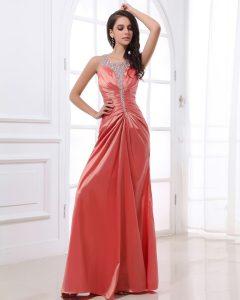 Evening Dresses made of satin Fabric