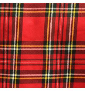 Excellent quality viscose tartan fabric in checks.